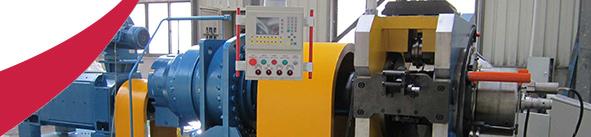 Continuous AL/CU Extrusion Machine